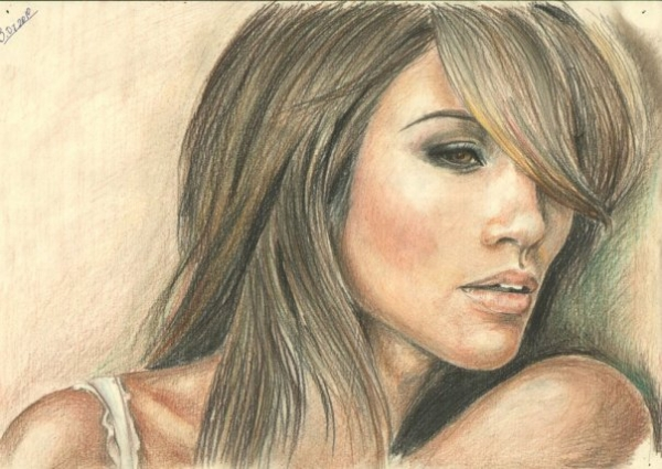 Jennifer Lopez by Nadezhda